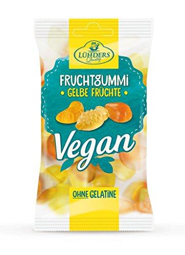 Lühders – Vegane Fruchtgummi Gelbe Früchte – 80g