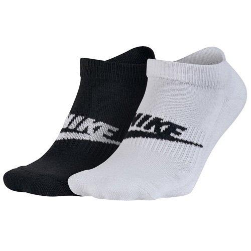 Nike Herren Graphic No-Show 2P Sportsocken, Multi-Colour, L (Baumwolle Zehen-socken Gerippten)