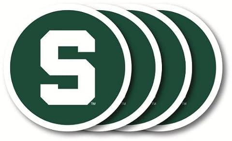 NCAA Vinyle sous-verres, Michigan State Spartans