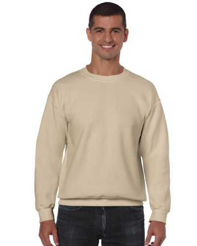 Gildan Heavy Blend Sweatshirt mit Rundausschnitt (M) (Sandfarben) M,Sandfarben