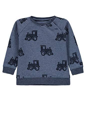 Bellybutton Kids Baby-Jungen Sweatshirt 1/1 Arm, Mehrfarbig (Allover 0003), 62