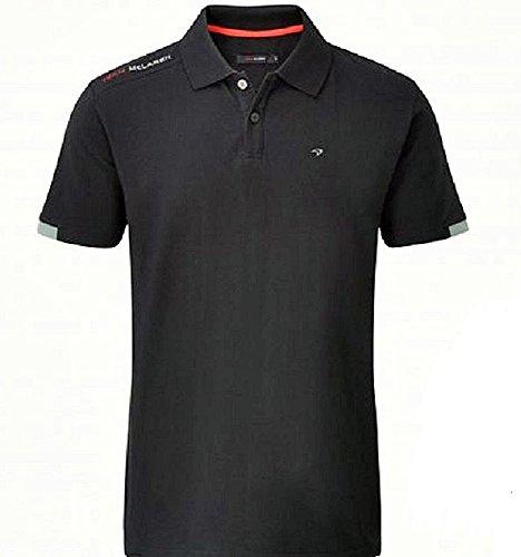 McLaren F1 Mens Black 2014 Signature Polo Shirt S 4048c277ff1