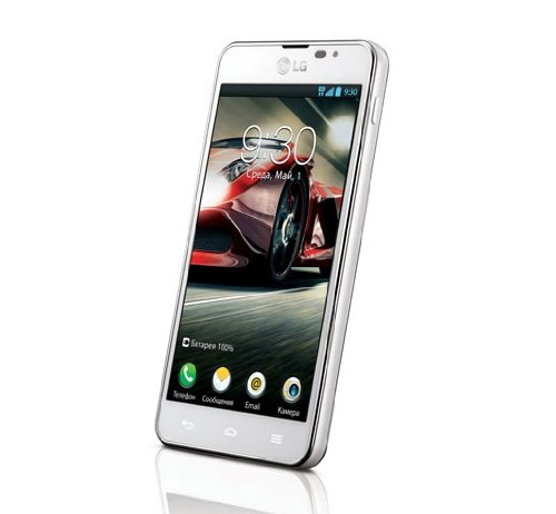 LG P875 Optimus F5 Smartphone (10,9 cm (4,3 Zoll) Touchscreen, 1,2GHz, Dual-Core, 1GB RAM, 8GB Speicher, 5 Megapixel Kamera, Android 4.1) weiß