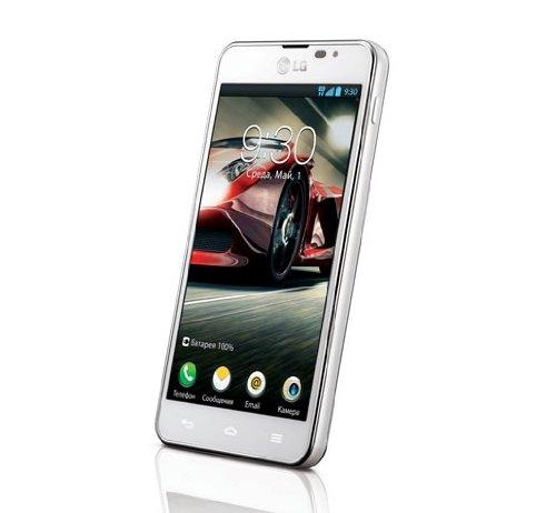 LG P875 Optimus F5 Smartphone (10,9 cm (4,3 Zoll) Touchscreen, 1,2GHz, Dual-Core, 1GB RAM, 8GB Speicher, 5 Megapixel Kamera, Android 4.1) weiß Lg Electronics 42