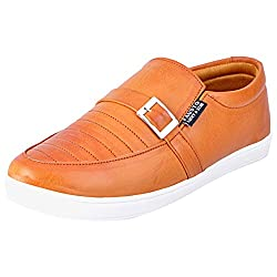 Fausto 1649-44 Tan Mens Loafers
