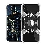 nincyee Coque de Protection en Aluminium pour iPhone XS Max,Coque de Protection arrière en métal très résistant Armor Hero Series pour iPhone x/XS iPhone XR iPhone XS Max