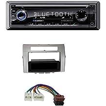 Blaupunkt Barcelona 230 CD SD USB Bluetooth MP3 Autoradio für Toyota Corolla Verso 2004-2009 silber