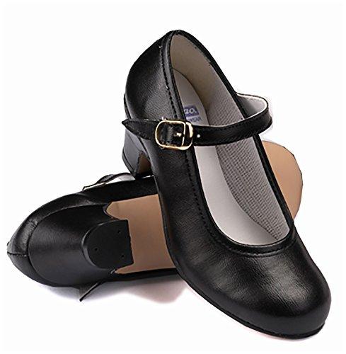 De Pisos Flamenco Espanha Crianças Artificial Couro Mulheres De Sensíveis 7226 Para E Vermelho Cru Pregado Sapatos Intermezzo 4Ax1RqwR