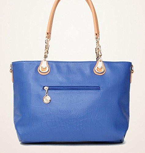 Keshi Pu neuer Stil Damen Handtaschen, Hobo-Bags, Schultertaschen, Beutel, Beuteltaschen, Trend-Bags, Velours, Veloursleder, Wildleder, Tasche Rosa