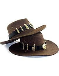 Laisla fashion Sombrero De Vaquero País Sombrero De Vaquero para Hombre  Clásico Sombrero ... f73a281cbef