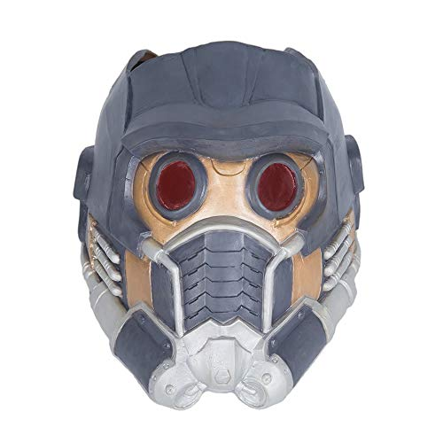 hcoser Guardians of The Galaxy Marvel Star-Lord Maske Helm Latex Cosplay - Star Lord Kostüm Helm