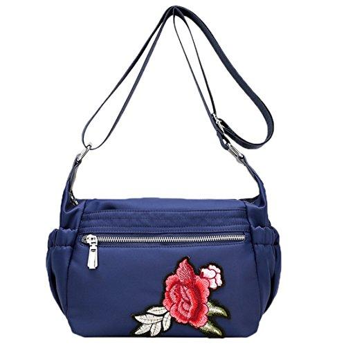 HT Women's Cross-Body Bags, Borsa a tracolla donna Black