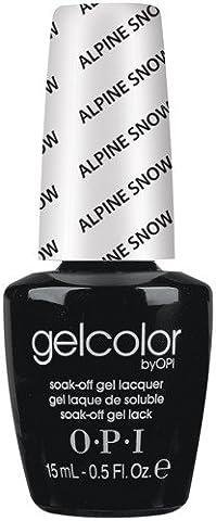 OPI Gel Color - Alpine Snow 15ml - Soak Off