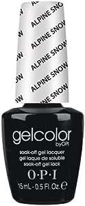 OPI Gel Color - Alpine Snow 15ml - Soak Off Gel Lacquer