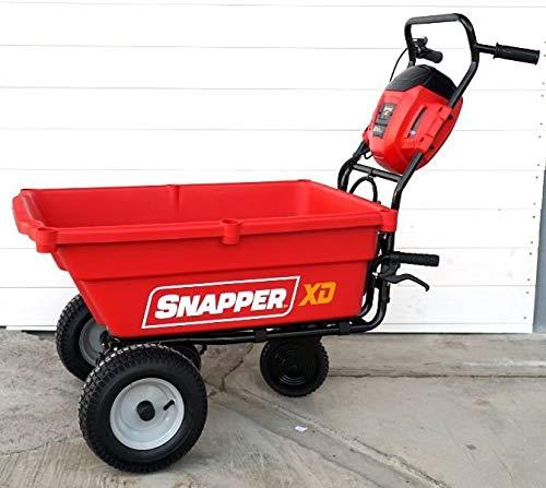 snapper carriola batteria utility exsduc82 solo macchina