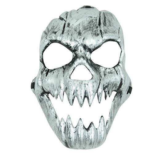 Foroner Maske Kostüm Halloween schrecklich Beängstigend Cosplay Masken Schädel Voller Gesicht Maske Party - Nicht Beängstigend Halloween Kostüm