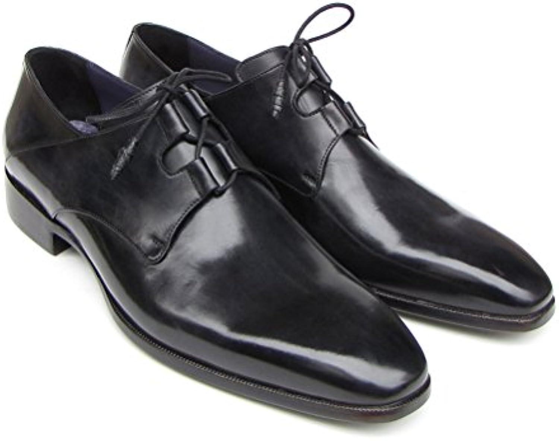 Paul Parkman - Zapatos de cordones para hombre Negro negro