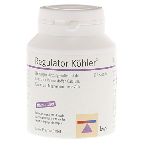 Regulator-Köhler, 100 St. Kapseln