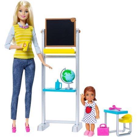 Image of Barbie Career Teacher Doll and Playset