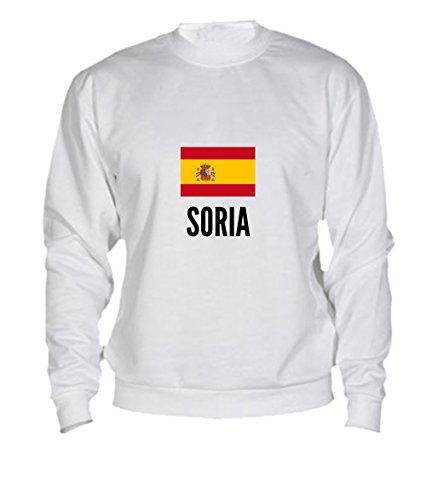 Felpa Soria city White