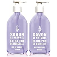 The Natural sapone liquido Sapone Miele di Lavanda Set di