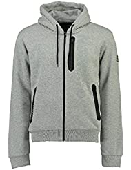 Geographical Norway - Sweat à capuche Enfant Geographical Norway Fascarade Gris