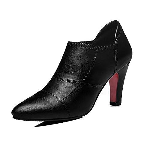 GUCIHEAVEN , Damen Elegant , Schwarz - schwarz - Größe: 39 EU