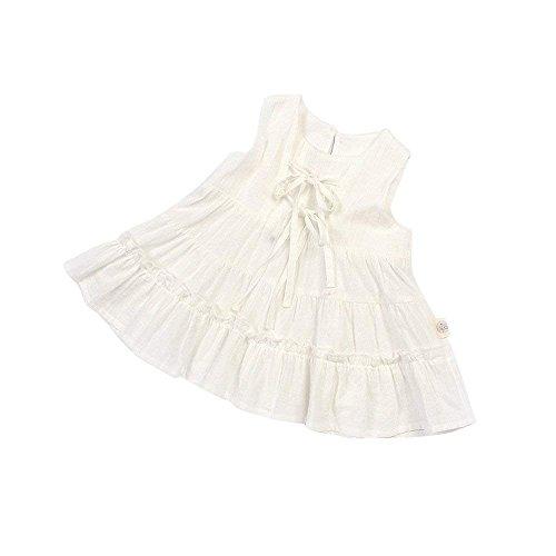 ce31954b10541 VONISA - Robe - Trapèze - sans Manche - Bébé (Fille) 0 à 24