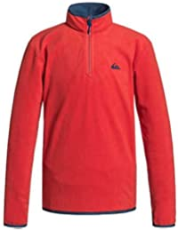 Quiksilver Mission Yth HZ B PLFL - Forro polar, color rojo