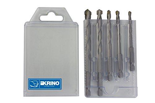 krino-03057700-puntas-superior-con-punta-hexagonal-1-4-para-pared-y-hormigon-lote-de-5-unidades-acer