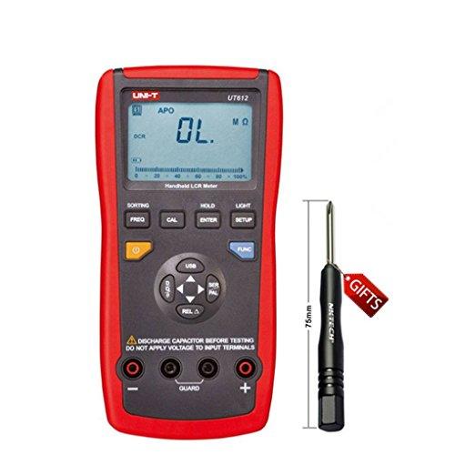 Uzinb Uni-T UT612 20000 Counts Anzeige LCR Meter Induktivität/Widerstand/Kapazität/Spannung/Frequenz-LCD-Hintergrundbeleuchtung Meter-Tool Bar Graph Meter
