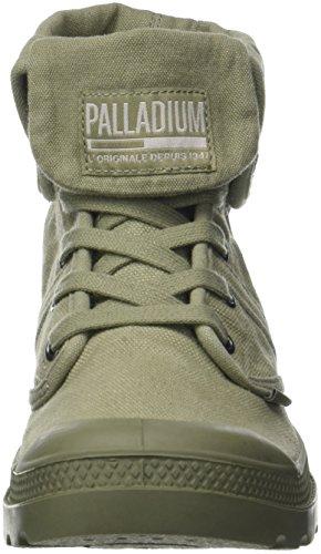 Palladium Herren Pallabrousse Baggy Hohe Sneaker Grün (Vetiver/burnt Olive K81)