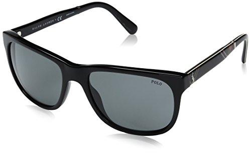 Polo Ralph Lauren Herren 0Ph4116 500187 58 Sonnenbrille, Schwarz (Black/Grey)