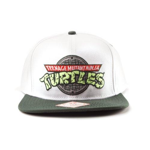 Teenage Mutant Ninja Turtles - Symbol einstellbarer Cap Snap-Back Baseball Kappe Mütze Hut Original & (Turtles Kostüm Teenage Mutant Original Ninja)