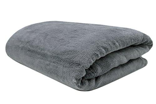 Zollner Kuscheldecke Wolldecke, Graphit ca. 150x200 cm (weitere Farben und Größen verfügbar)