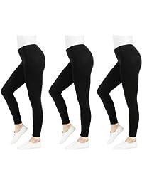 FM London Casual Leggings para Mujer
