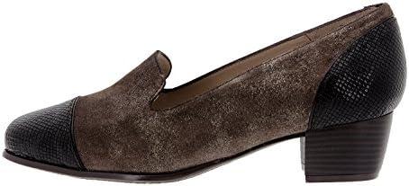PieSanto Calzado Mujer Confort de Piel 9108 Zapato Mocasín Cómodo Ancho