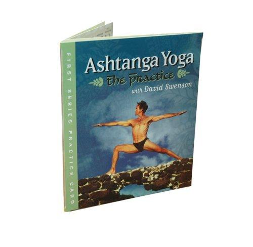 ashtanga yoga first series practice card
