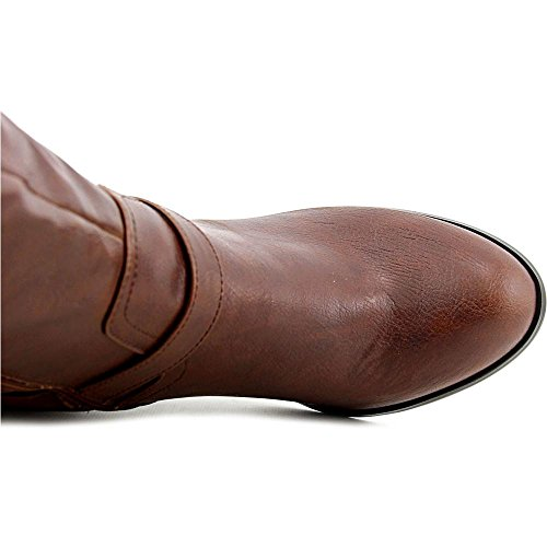Style & Co Leighh Synthétique Botte Cognac
