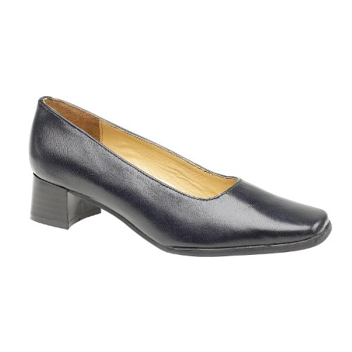 Amblers Walford Damen Leder Pumps / Damen Schuhe (43 EUR) (Marineblau)