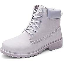 Beladla Zapatos De Mujer Estilo BritáNico Botas Martin Zapatos De OtoñO E Invierno Botines Zapatos De