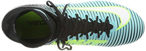 Nike Mercurial Veloce 3 Dynamic Fit (Fg), Scarpe da Calcio Donna Blu (Light Aqua/white-black-volt)