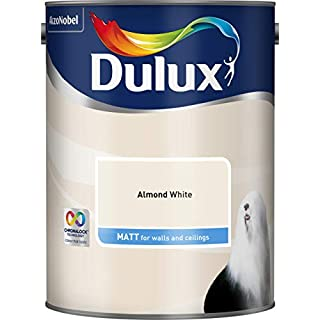 DULUX MATT ALMOND WHITE 5L