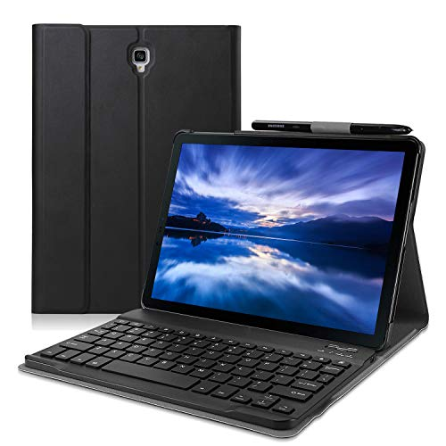 Wineecy Galaxy Tab A 10.5 2018 Teclado FundaQWERTY