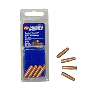 Campbell Hausfeld WT501400AJ 0.035-Inch Contact Tips for MIG Welder, 4-Piece