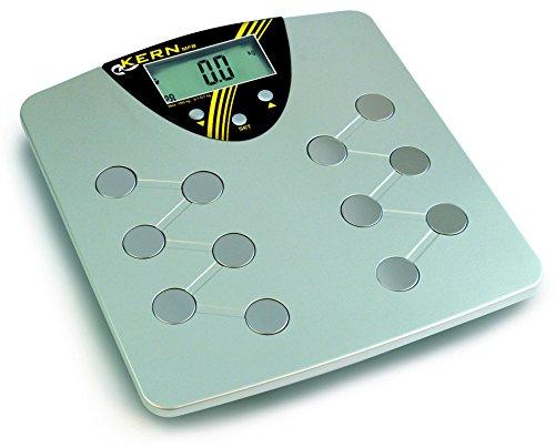 Balanza medidoras de grasa corporal [Kern MFB 150K100] , Campo de pesaje [Max]: 150 kg, Lectura [d]: 100 g