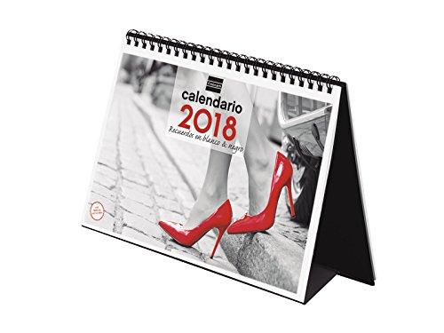 eBook Finocam Memories in Black and White–Desktop Calendar of Images 2018Spanish, 210x 150mm, Black/White