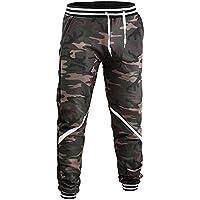 ELECTRI Pantalons de survêtement de Camouflage décontractés,Camouflage Jogger Pantalon Hommes Pantalons Hip Hop Poches Pantalons De Jogging