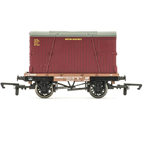 Hornby r6776'conflat und Behälter' Wagon Spielzeug