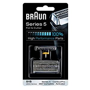 Braun 51S Series 5 Heads and Foil Cutter Pack